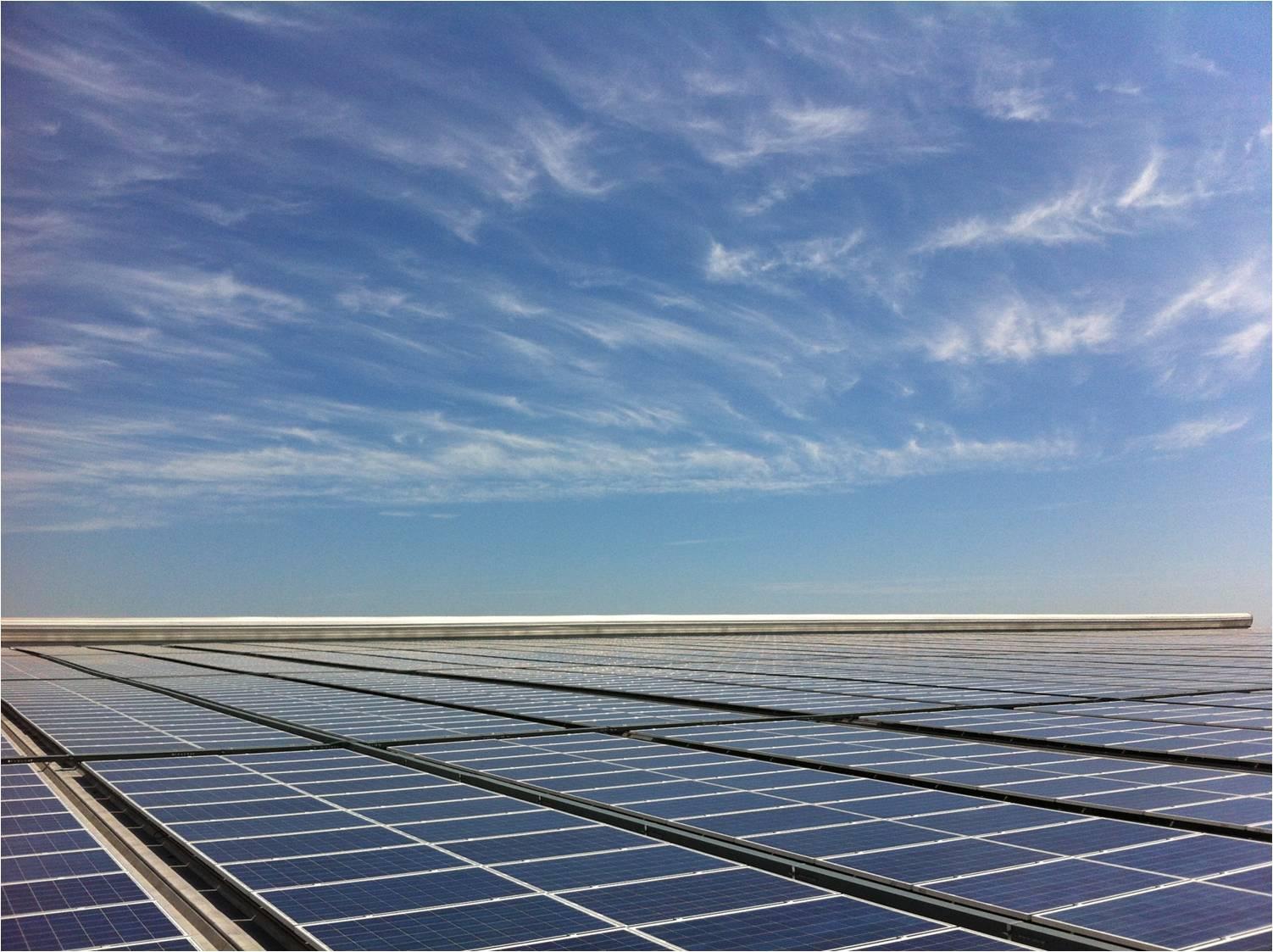 工厂建设太阳能光伏电站