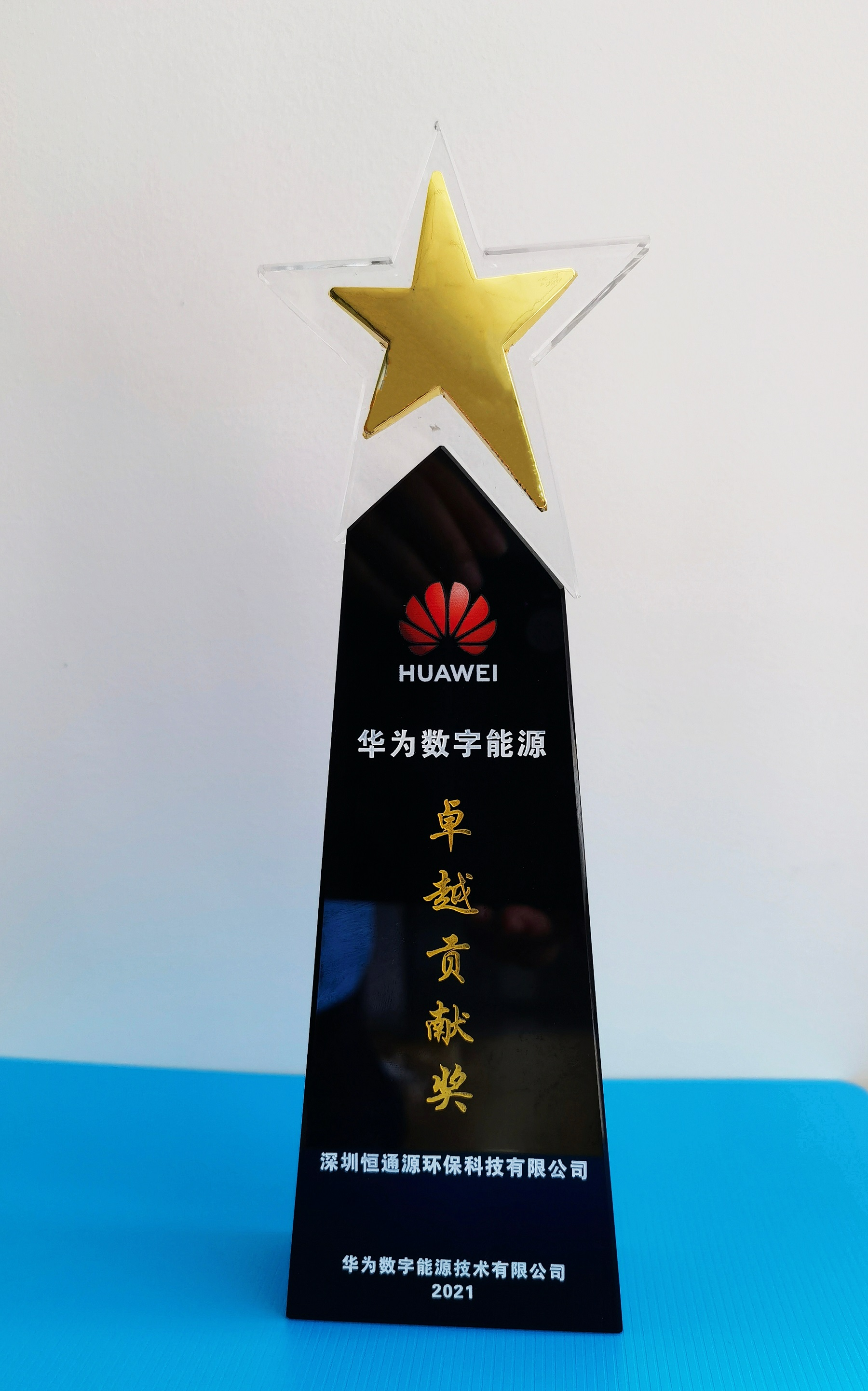 2021华为数字能源卓越贡献奖