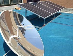 浙江杭州2KW学校屋顶光伏发电项目