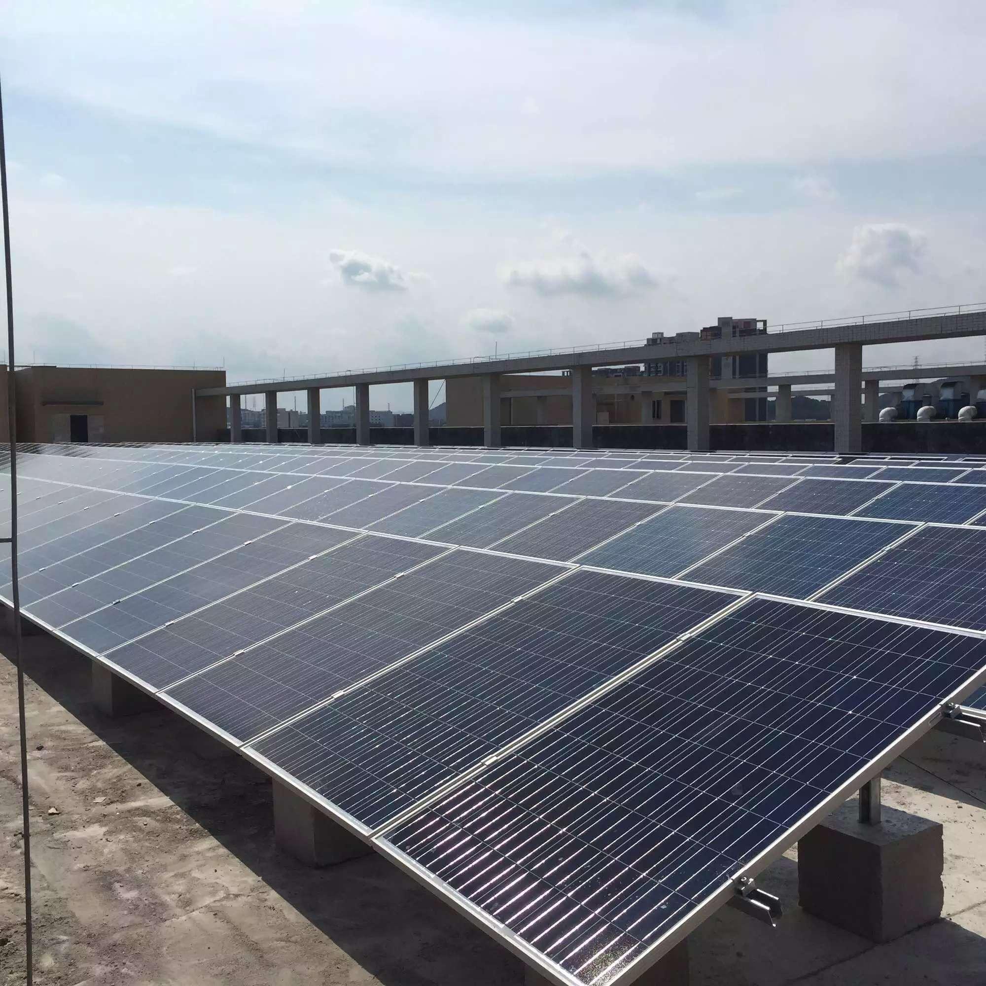 恒通源为东莞声耀公司建设的光伏电站获得高满意度!