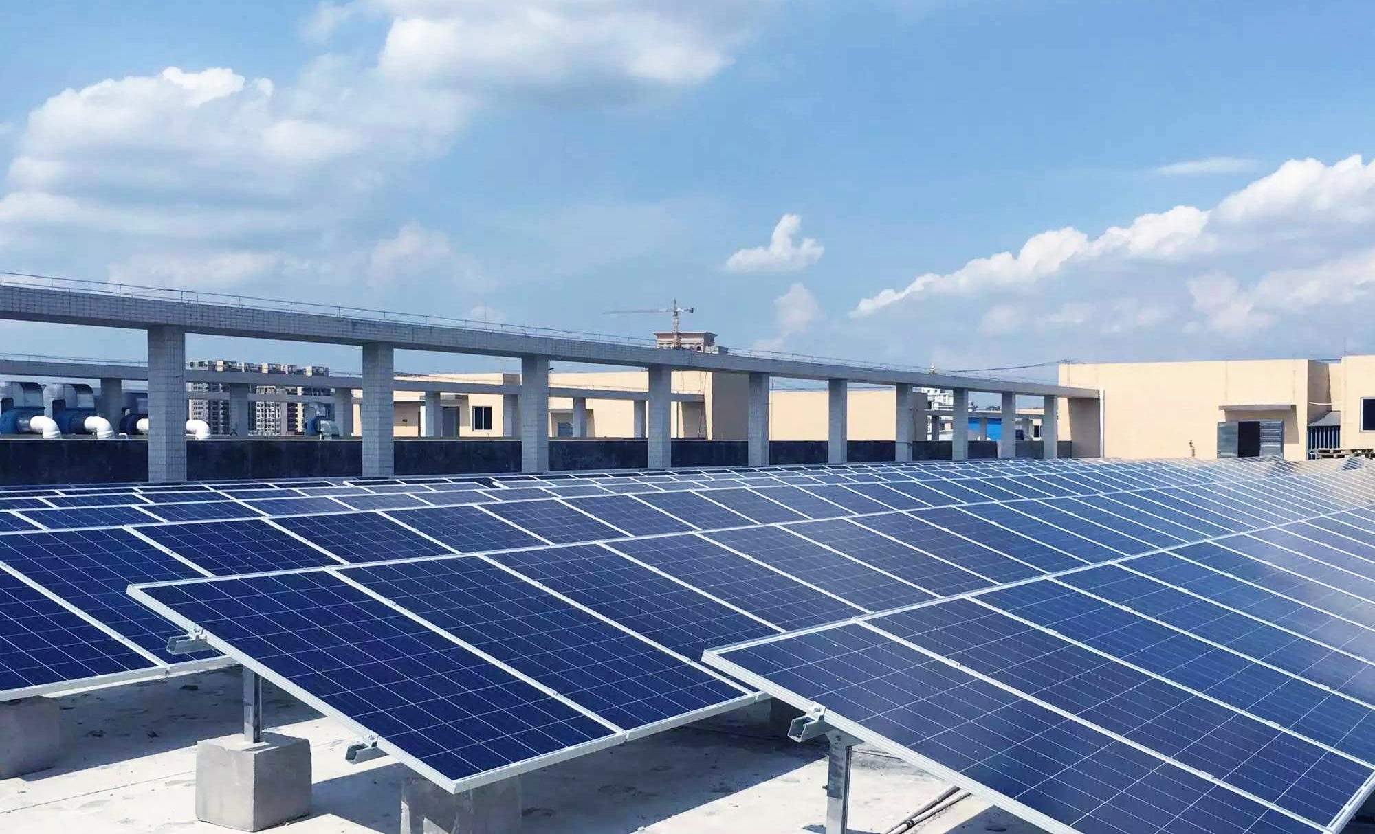 东莞声耀2.4MW分布式光伏发电项目