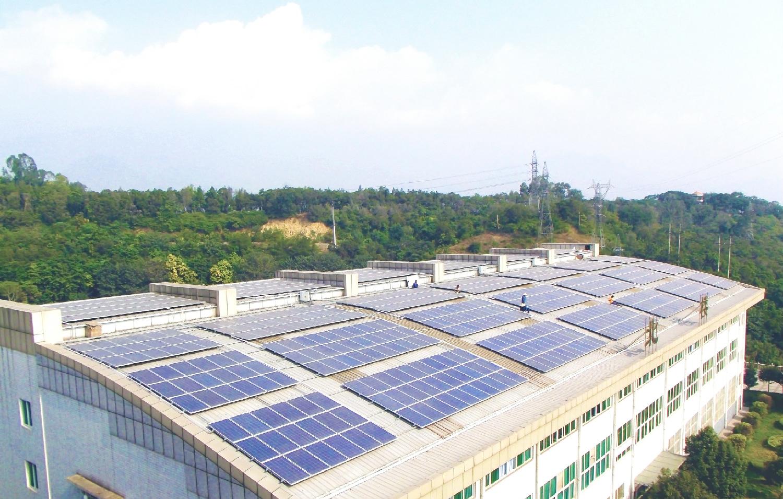 市政屋顶光伏发电解决方案